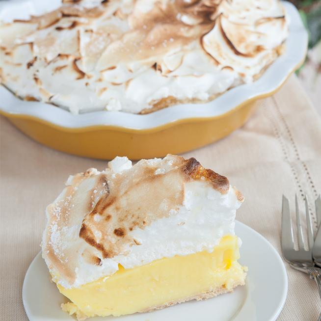 Happy Birthday with Lemon Meringue Pie