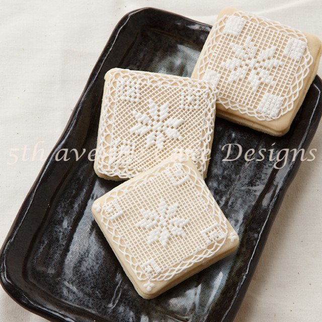 Cross Stitch with Royal Icing