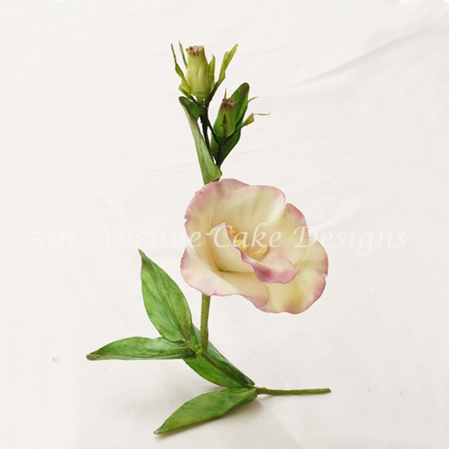 Flower Paste Lisianthus Spray