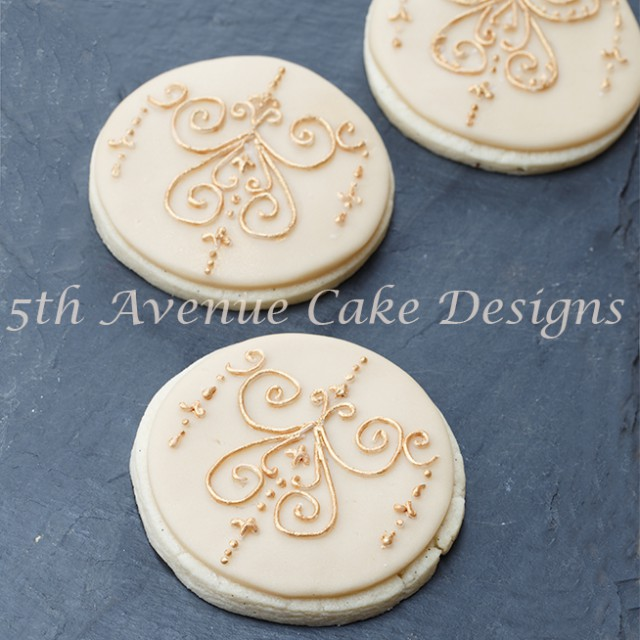 Medallion Filigree Cookies