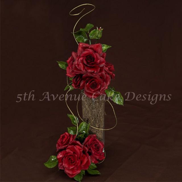 Flower Paste Rose Spray Tutorial