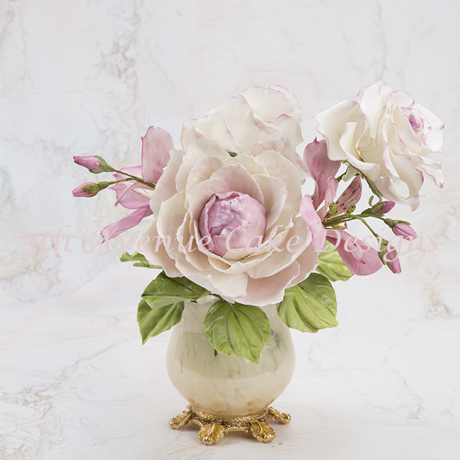 How To Create A Flower Paste Peony For A Romantic Spray