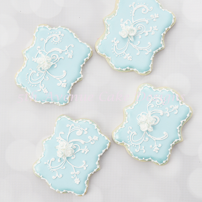 Decorative Filigree Cookies