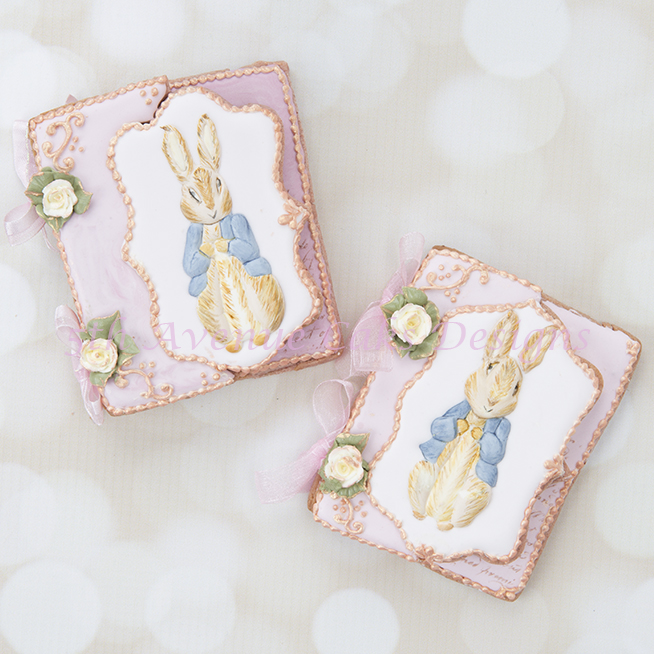 Inspired Vintage Dimensional Peter Rabbit Cookie Cards