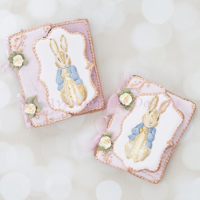 Inspired Vintage Dimensional Peter Rabbit Cookie Cards