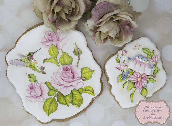 Beautiful Floral Bird Cookies 🕊️🌷🌸