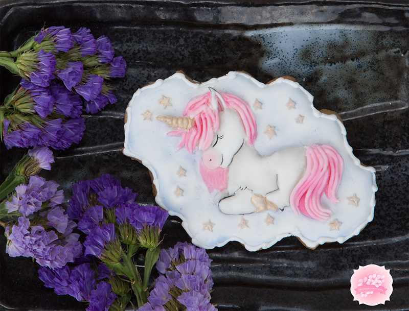 Enchanting Lullaby Unicorn Cookie 🦄💕🤟🏼