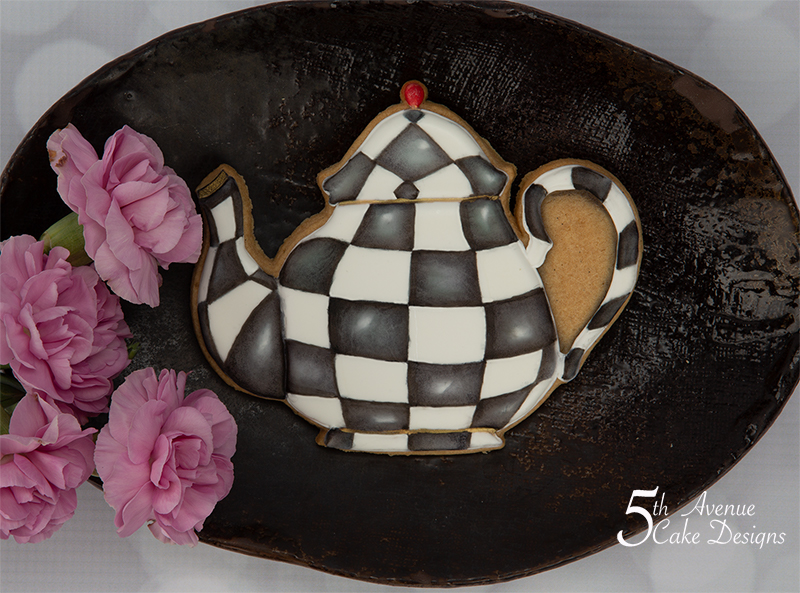 MacKenzie-Childs Inspired Teapot Cookie 🍵💐