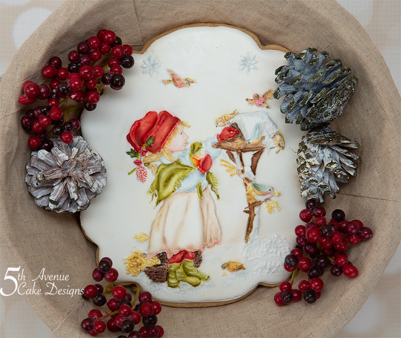 Feeding the Winter Birds a Christmas Cookie Art Lesson 🔔🕊️🕯️
