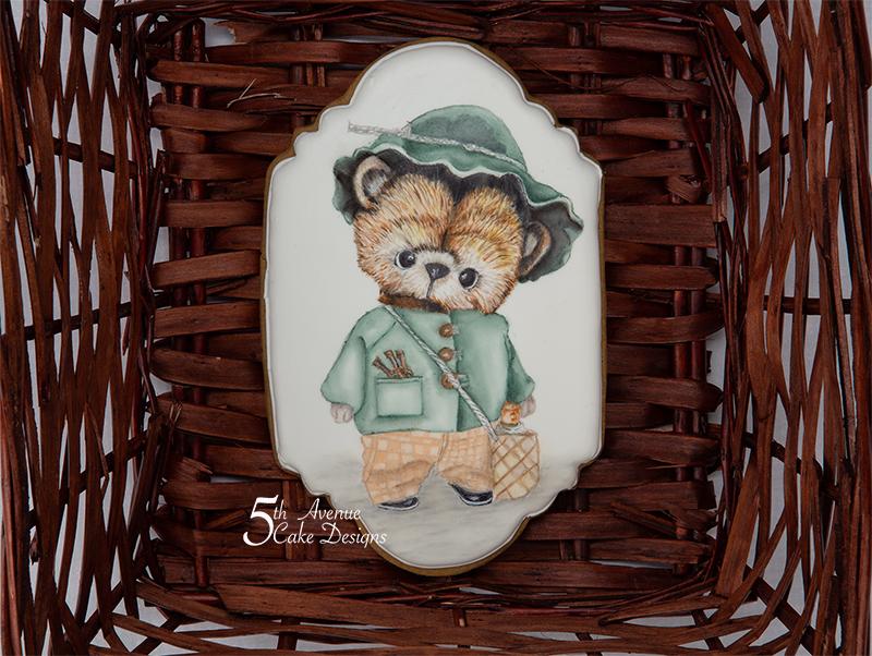 Adorable Teddy Bear Cookie 🧸🎨🖌️
