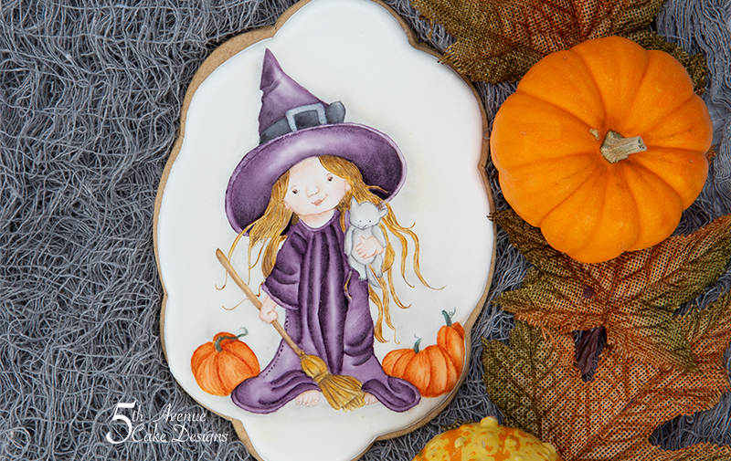 Witchy Fun Cookie Art Lesson 🎃🧙‍♀️🧹