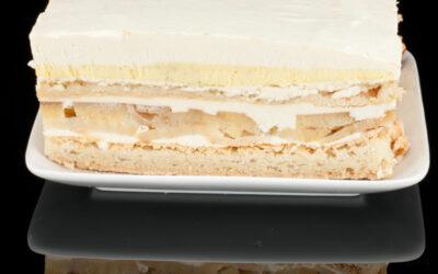Bobbie's Caramel-Crème Anglaise Apple Cake