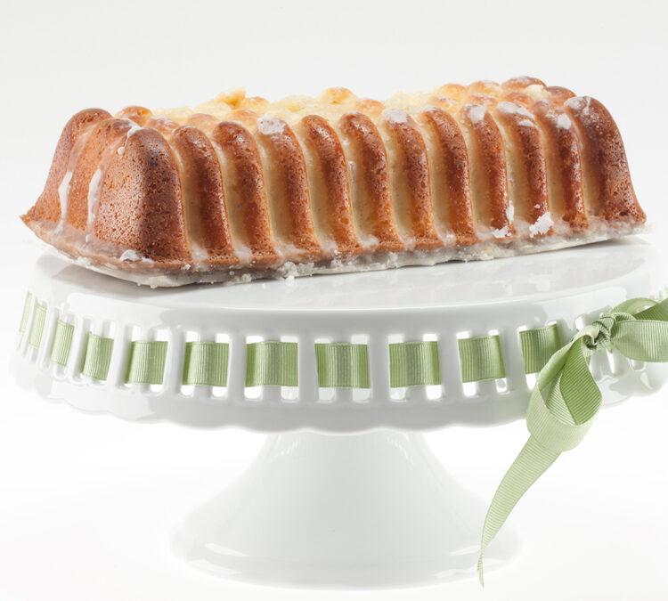 Almond-Ginger Mascarpone Sponge Cake