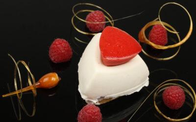 Sydney's Pâte d'Amande Gâteau Mousse Blanc