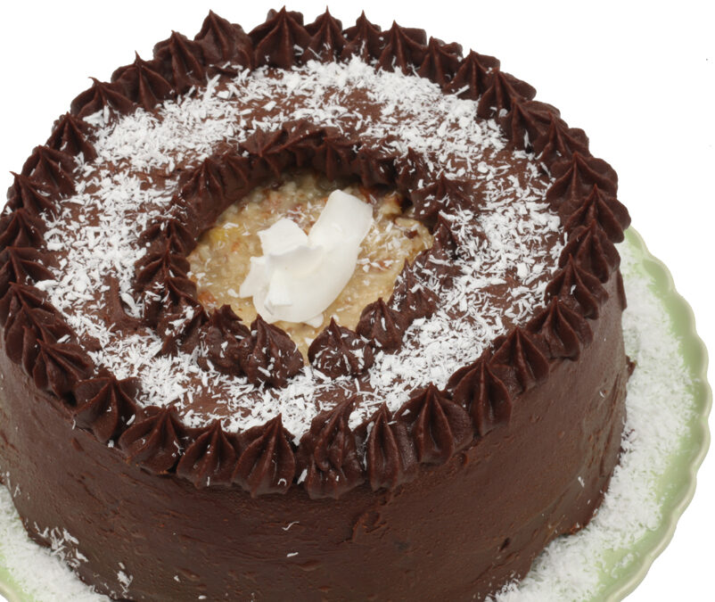 German Chocolate Cake: A Special Birthday Gift For James