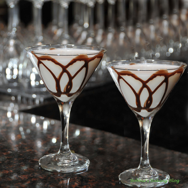 Time for A White Chocolate Martini, The Patio is Open