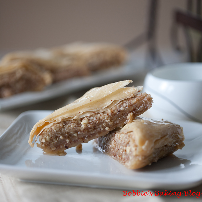 My Big Fat Greek Baklava with Homemade Phyllo Dough