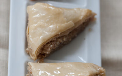 Daring Baker's Sheets of Phyllo Dough