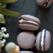 Lavender, Vanilla, and Sugar, Oh My Lavender-Vanilla Macarons