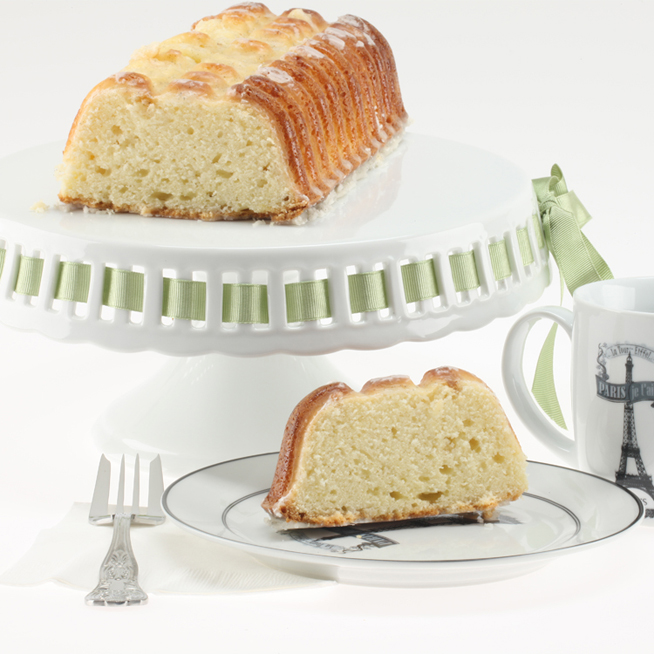 Ordinary Pound Cake Becomes Extra Ordinary with Ginger Liqueur
