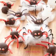 Creepy Crawling Halloween Truffle Creatures