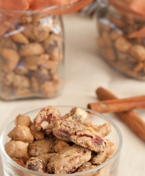 Thanksgiving Countdown, Candied Spicy Nuts