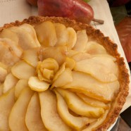Thanksgiving Count Down, Caramelized Pear Tart