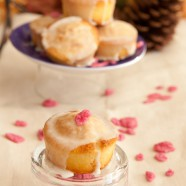 Say I love You with Rose Muffins
