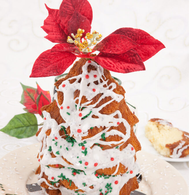 """""""Oh Christmas Tree,"""" Your Beautiful in Lemon and Poppy Seed"""