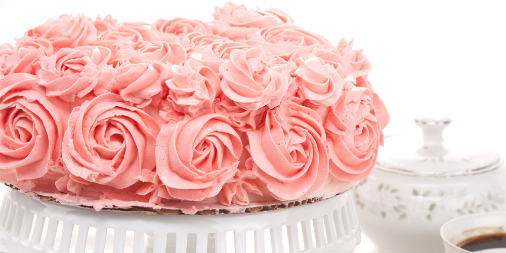 Champagne Rosé Génoise, The Perfect Cake to Say I Love you