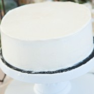 Italian Buttercream & How To Frost a Cake
