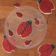 Ladybug Sugar Cookies, For Mother&#8217;s Day