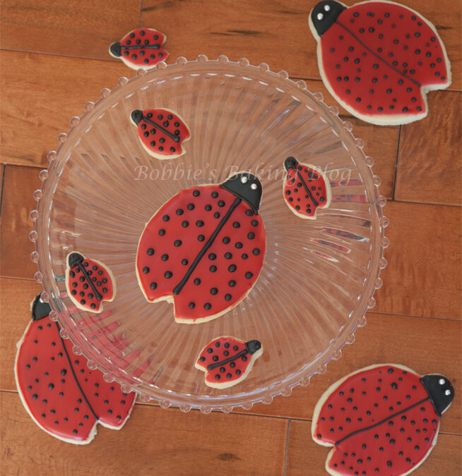 Ladybug Sugar Cookies, For Mother's Day