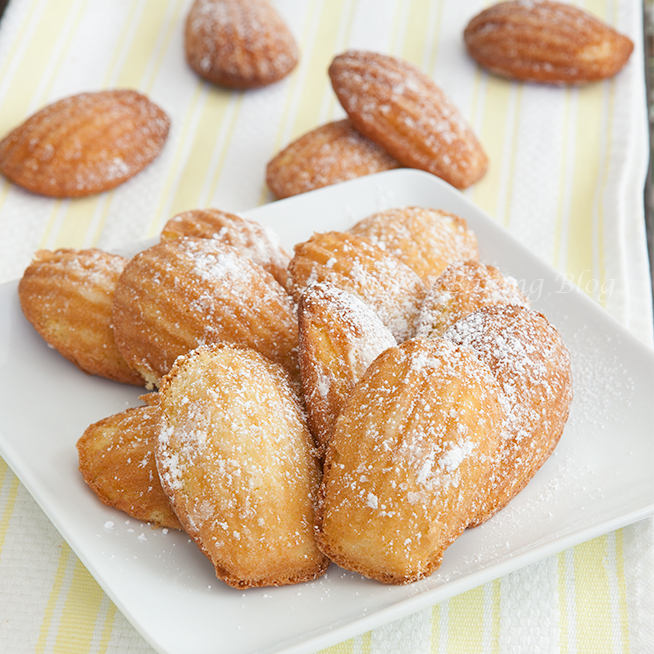 French Madeleines, A Luscious Petit Dessert