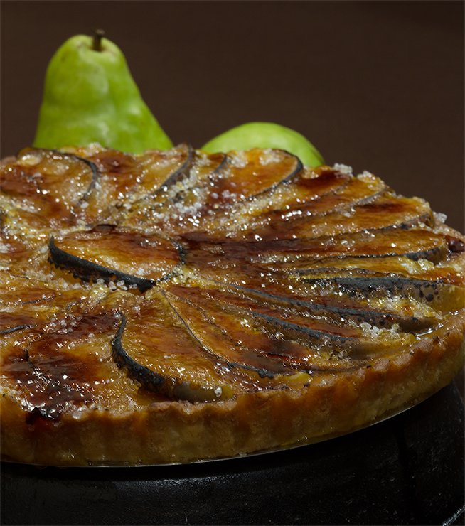 pear tart tutorial