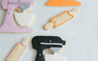 Holiday Baking: Fondant Kitchen Mixer Fun