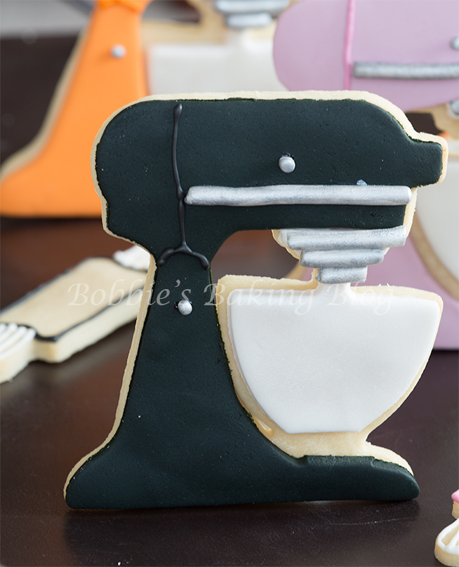 fondant kitchenaid holiday cookie
