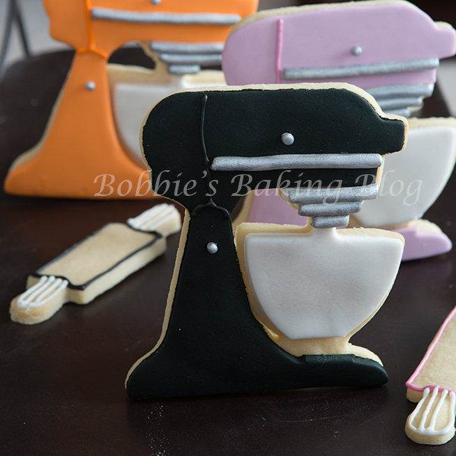 fondant kitchenaid tutorial, holiday kitchenaid