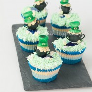 The Luck of the Irish, Crme de Menthe Cupcakes