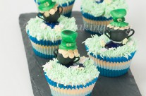 The Luck of the Irish, Crème de Menthe Cupcakes