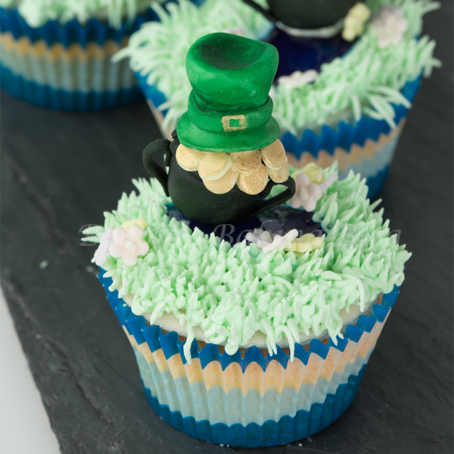 St. patrick day cupcakes