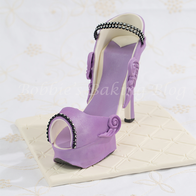 fondant platform stiletto tutorial