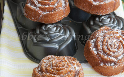 Lemon Poppy Seed Bundt Cakes, Great for Breakfast