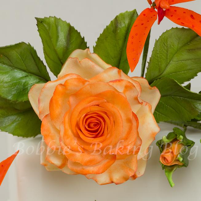 sugar paste rose tutorial