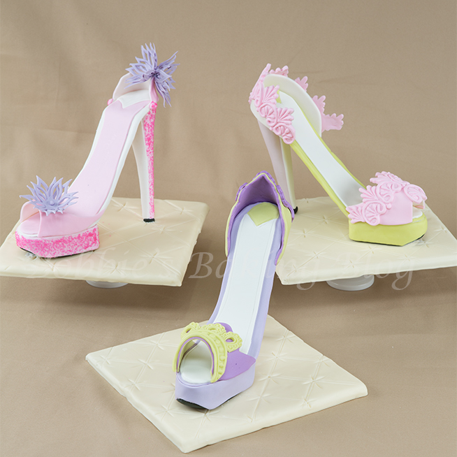 Sugar Paste Designer Stiletto Platform Shoe Fun