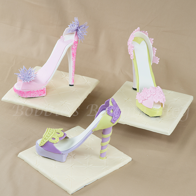 Sugar Paste Fondant Platform Stiletto Tutorial