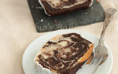 Spicy Chocolate-Vanilla Pound Cake