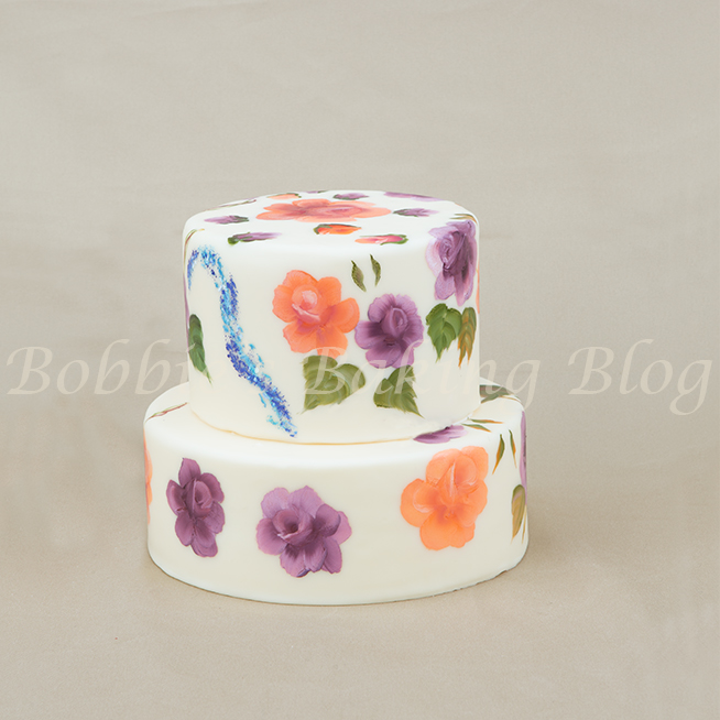 how to paint marjorie harris clark roses on cakes tutorial