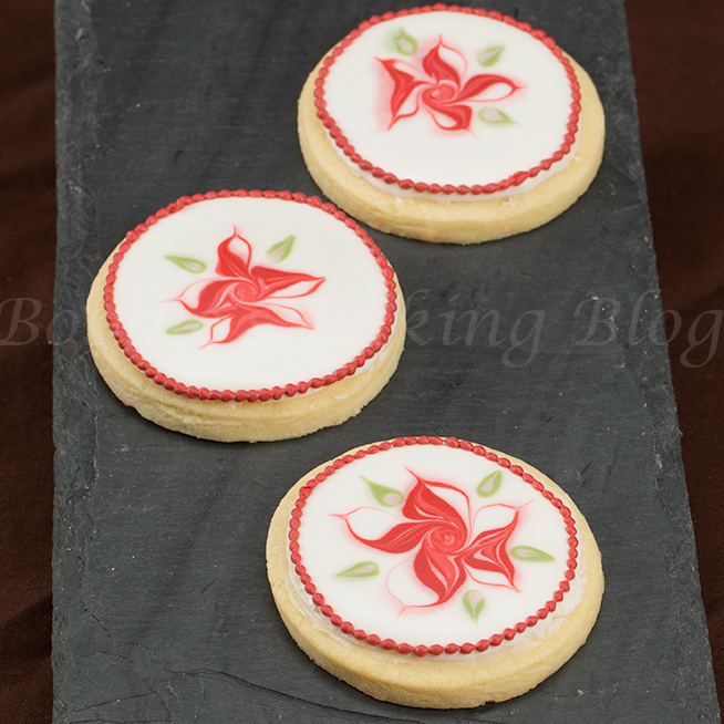 wet on wet royal icing technique