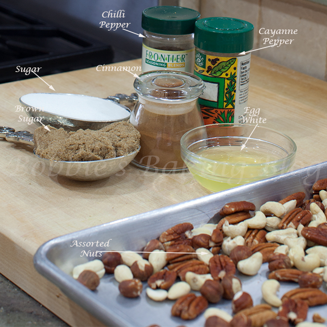 how to make candied spice nuts